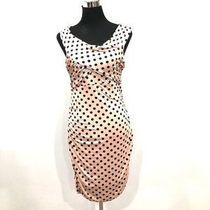 BNWT Guess polka dots bodycon dress